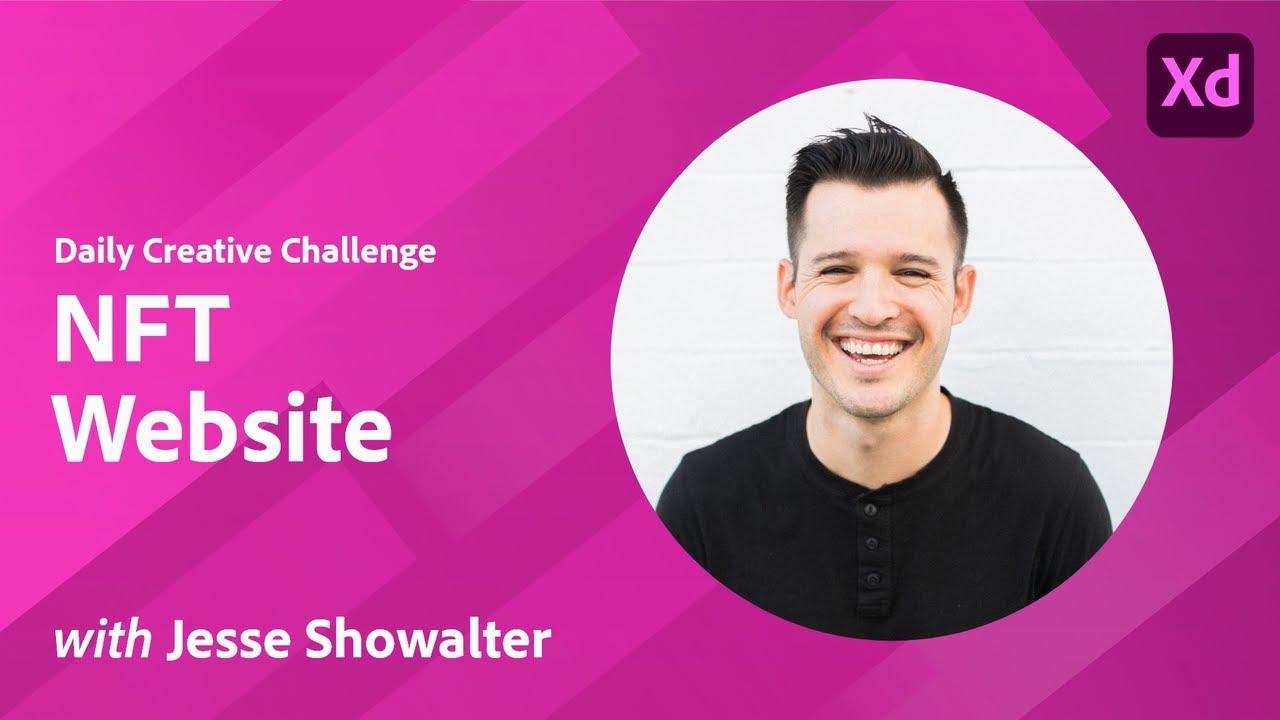 Creative Encore: XD Daily Creative Challenge - NFT Website
