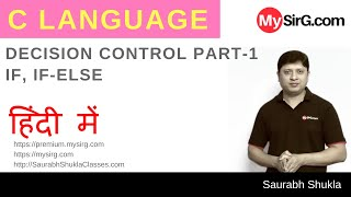 Lecture 6 Decision Control in C Part 1 Hindi
