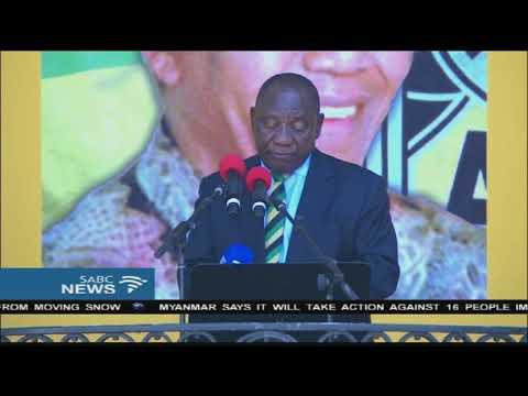 Mandela centenary offers the ANC a new beginning: Ramaphosa