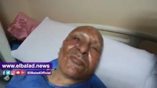 بطل حرب أكتوبر المصاب بتفجير طنطا: تحيا مصر ألف مرة ..فيديو و صور