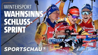 Biathlon-WM: Furiose Aufholjagd beschert den deutschen Frauen eine Medaille   Sportschau