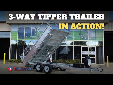 Trailer Tech 3way Tipping Trailers Promo Video