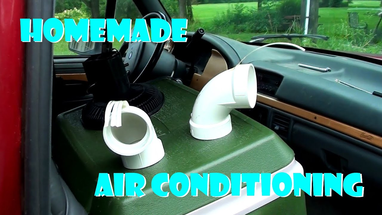 homemade air conditioner portable cooler a c with 12 volt fan youtube. Black Bedroom Furniture Sets. Home Design Ideas