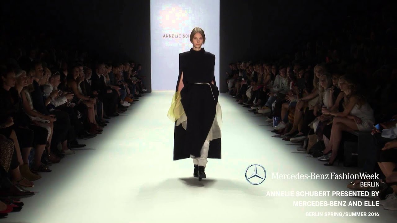 Annelie schubert presented by mercedes benz and elle for Mercedes benz fashion