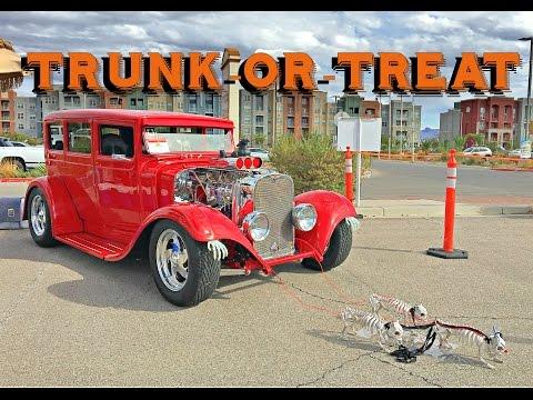 Trunk or Treat Oct 29 Car Show Las Vegas