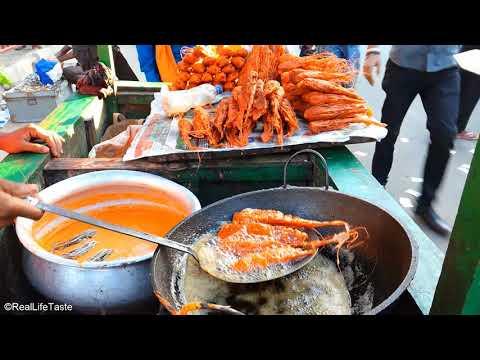 Famous Prawn Head Fry | Amazing Street Food | Prawn Fry Street Food