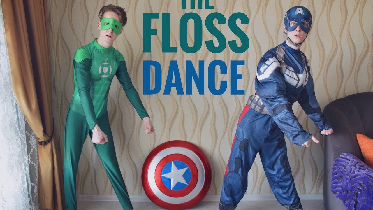 The floss how to do the floss dance backpack kid youtube for What is flossing