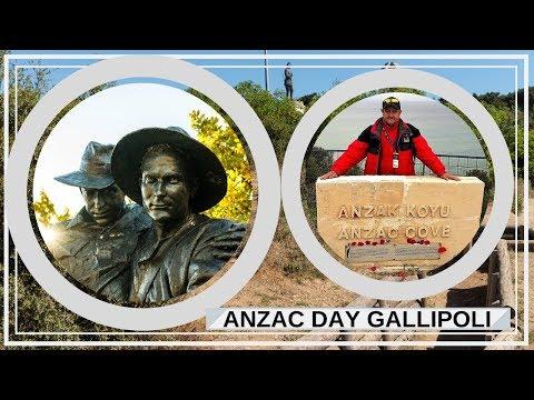 ANZAC Day at Gallipoli | ANZAC Cove | Gallipoli Dawn Service
