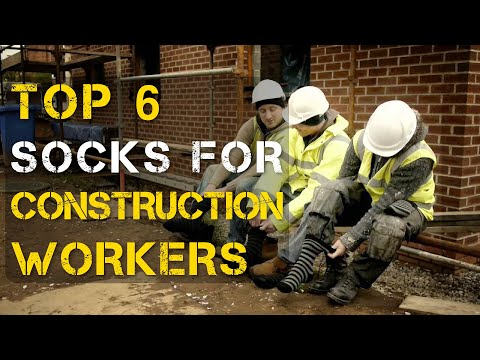 Top 6 Best Socks for Construction Workers
