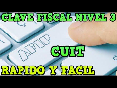 🔥Como sacar CLAVE FISCAL NIVEL 3  y CUIT AFIP- ONLINE -PASO A PASO 2021 (  devolución del 35%)