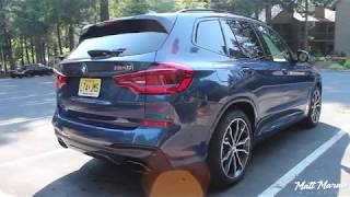 Sound: 2018 BMW X3 M40i