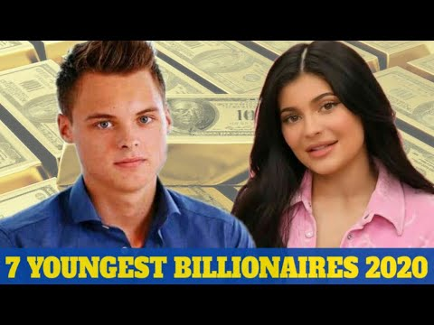 Top 7 Youngest Billionaires In The World 2020