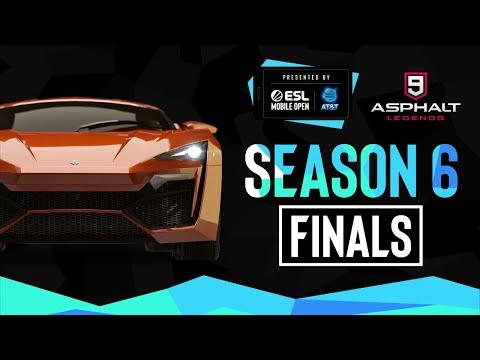 ESL Mobile Open Season 6 Finals - Asphalt 9: Legends