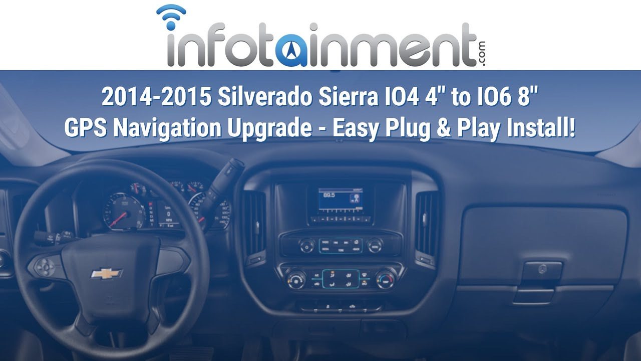chevrolet silverado 1500 parts diagram 2014 2015    silverado    sierra io4 4  to io6 8  gps navigation  2014 2015    silverado    sierra io4 4  to io6 8  gps navigation