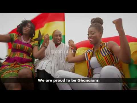 """ God bless our home land Ghana  ""  National Anthem -  Peace Campaign"