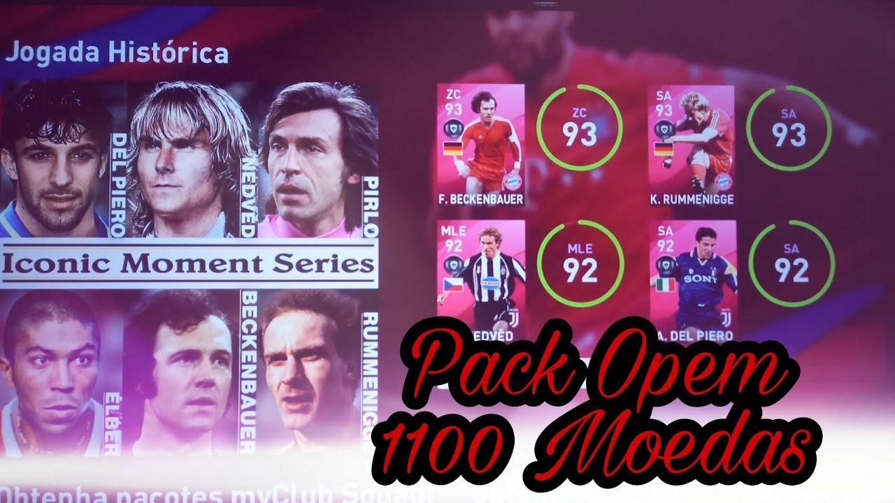 eFootball PES Pack Opem Juventus Bayern de München 1100 Moedas 💰💰💰