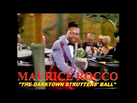 Maurice Rocco - The Darktown Strutters Ball (Color Movie Clip) 1945