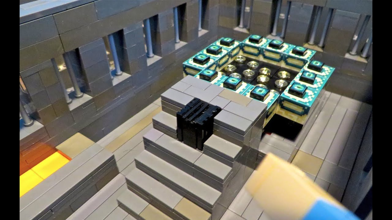 Minecraft Papercraft End Portal