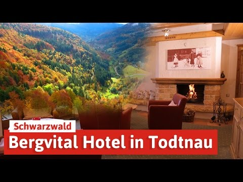 bergvital hotel in todtnau wellness im schwarzwald youtube. Black Bedroom Furniture Sets. Home Design Ideas
