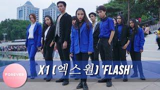 KPOP IN PUBLIC X1 FLASH DANCE COVER in PUBLIC INDONESIA