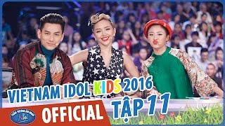 vietnam idol kids - than tuong am nhac nhi 2016 - gala 5 - full hd