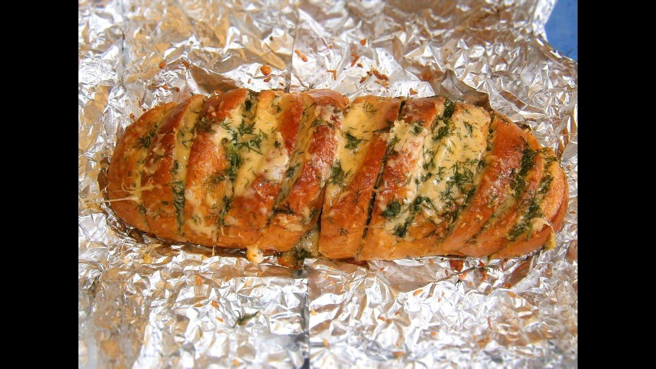 Багет в духовке с сыром и колбасой рецепт