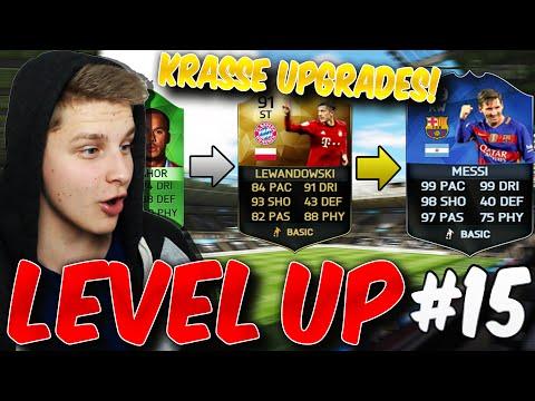 FIFA 16: ULTIMATE TEAM (DEUTSCH) - LEVEL UP #15 - KRANKE UPGRADES!