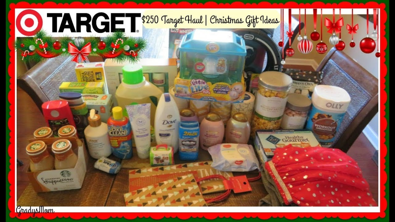 $250 Target Haul | Lots of Christmas Gift Ideas Here! - YouTube