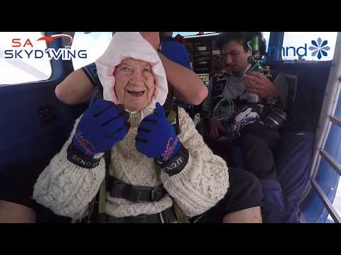 The Penthouse Blog - 102 Year Old Woman Sky Dives And Could Be The Oldest Person To Do It