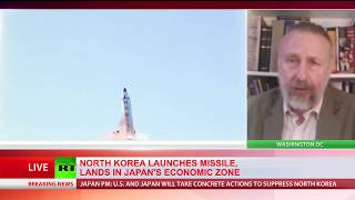 'When N  Korea feels threatened, they show military power' – US ex diplomat on new missile launch