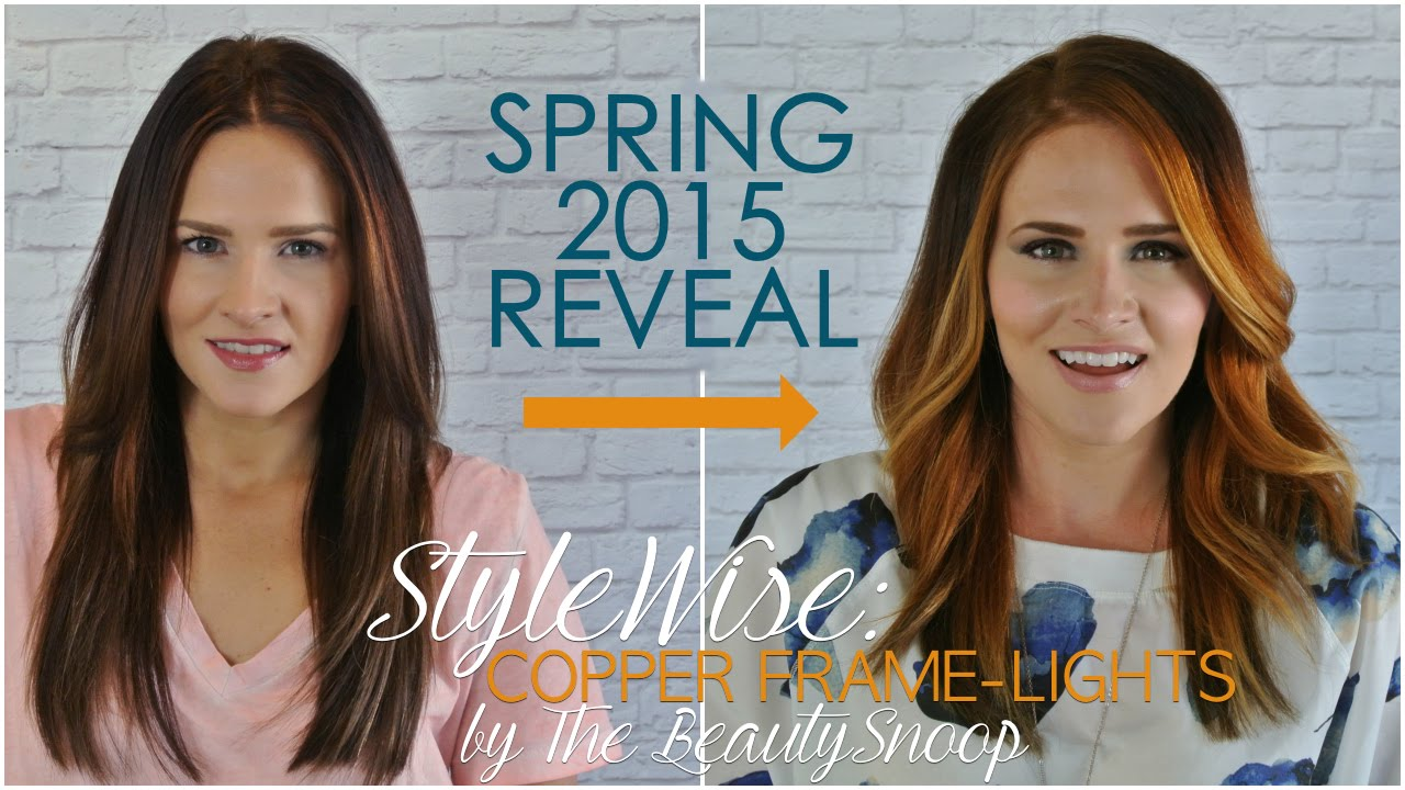 Spring Reveal Copper Highlights Youtube