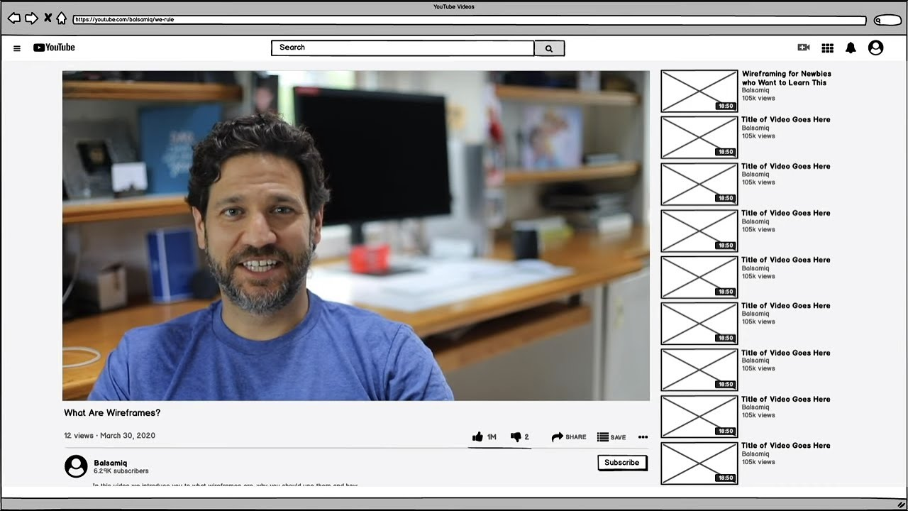 What are Wireframes? (4 min. video) - Balsamiq Wireframing Academy