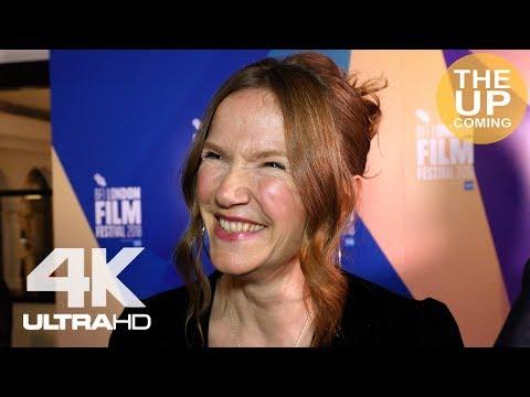 Jessica Hynes  The Fight  at London Film Festival premiere