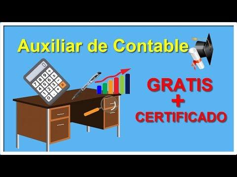 Curso Auxiliar De Contabilidad GRATIS Con CERTIFICADO│Curso Auxiliar Contable Online Gratis