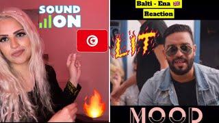 Balti - Ena (Official music video) 🇬🇧 Reaction