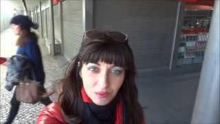 Португалия. Как доехать в Кашкайш из Лиссабона. Поезд туда - обратно. Часть 7