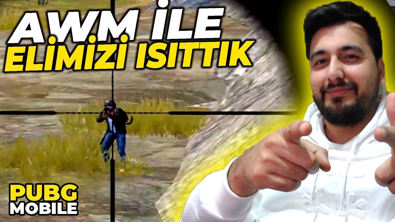 AWM İLE 20 LEŞ BİRAZ ANTRENMAN YAPTIK / PUBG MOBILE