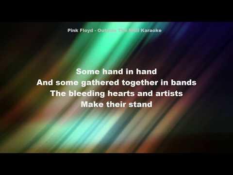 Pink Floyd - Outside the wall Karaoke