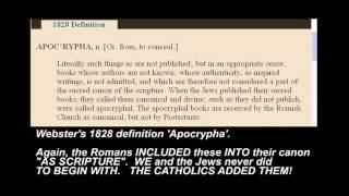 Bible Canon Lie REFUTED! Council of Nicaea did NOT choose books of our Bible