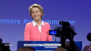 EU: Ursula von der Leyen stellt die 27 neuen Kommissare vor