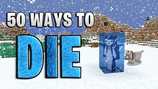 50 Ways to Die in Minecraft (Winter Edition)