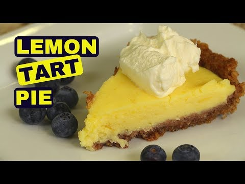 How To Make Lemon Tart Pie | Gluten Free
