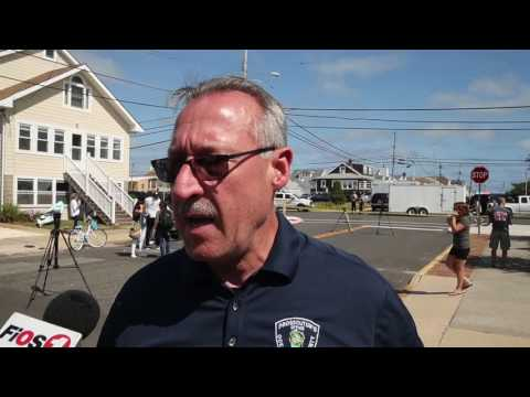 Media briefing on Seaside Park explosive device