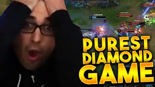THIS IS WHAT THE PUREST DIAMOND 4 GAME LOOKS LIKE ! @Trick2G
