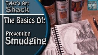 Repeat youtube video The Basics of How to Prevent a Drawing from Smudging or Smearing