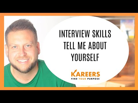 Interview Skills - Tell me about yourself - Perfect sample answer for School Leavers