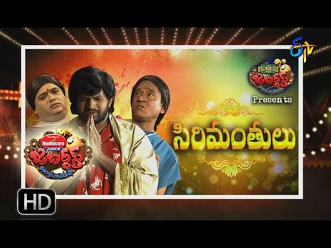 Jabardsth 19th January 2017 Full Episode Etv Telugu Youtube