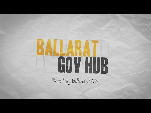 Ballarat Gov Hub - Update 1 (Kane Nicholson Joint Venture)