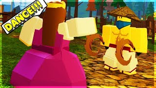 PRINCESS ORDERS PEOPLE AROUND IN DUNGEON! (ROBLOX DUNGEON QUEST)