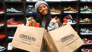 Skai Jackson Goes Shopping For Sneakers With CoolKicks